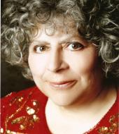 Miriam Margolyes Red Shirt